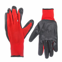 Перчатки трикотажные (нейлон) полуоблив №6  купить оптом и в розницу