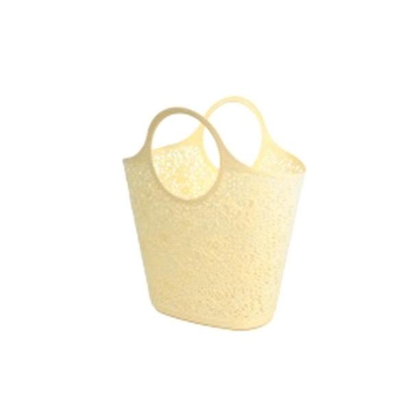Сумка-корзинка кружевная  кремовый*12 купить оптом и в розницу