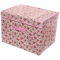 Коробка д/хранения вещей 41*30*20 Роза красная купить оптом и в розницу