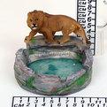 Пепельница из керамики ″Лев″ E636B купить оптом и в розницу