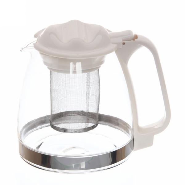 Чайник заварочный стеклянный 900 мл купить оптом и в розницу
