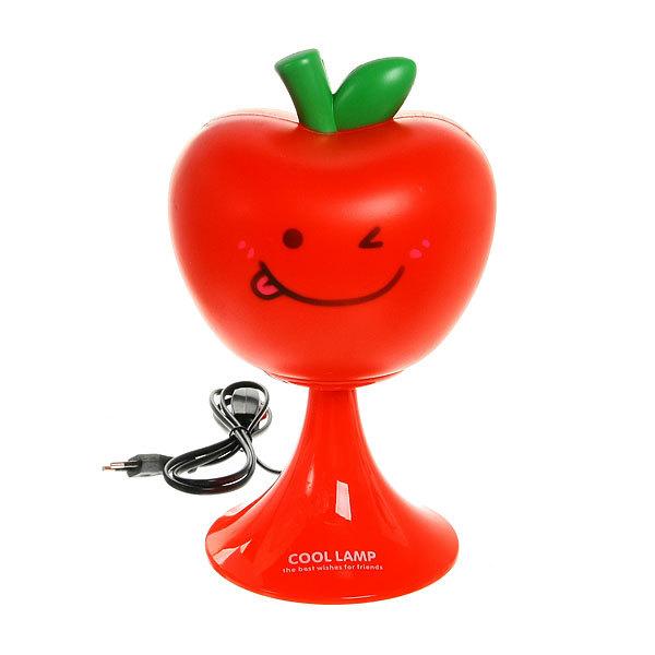 Светильник декоративный ″Яблочко″ красное 29 см, 220 В купить оптом и в розницу