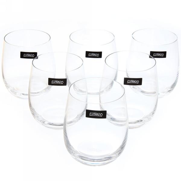 Набор стаканов 6шт 360мл хрустальное стекло, Familia, Esprado купить оптом и в розницу