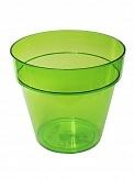 Кашпо Ибица прозрачное  зел16 1,8 л*10  Form plastic купить оптом и в розницу