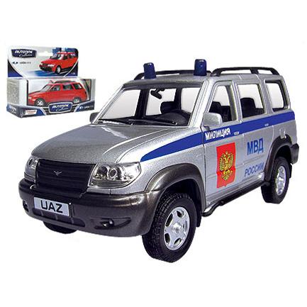 Модель  УАЗ Патриот милиция 30183 1:34 купить оптом и в розницу