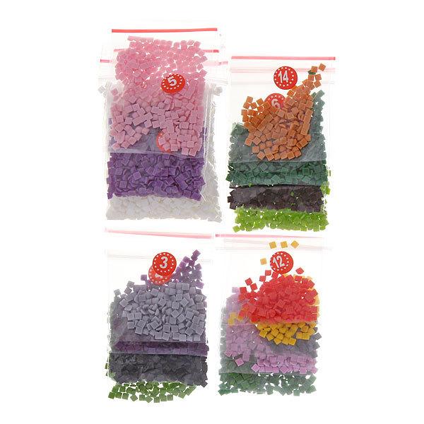 Алмазная вышивка 22*22см ″Рождественский венок″ H0915 купить оптом и в розницу
