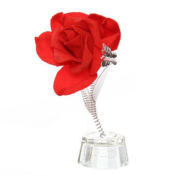 Фигурка из акрила ″Роза″ 14 см В001-95 купить оптом и в розницу