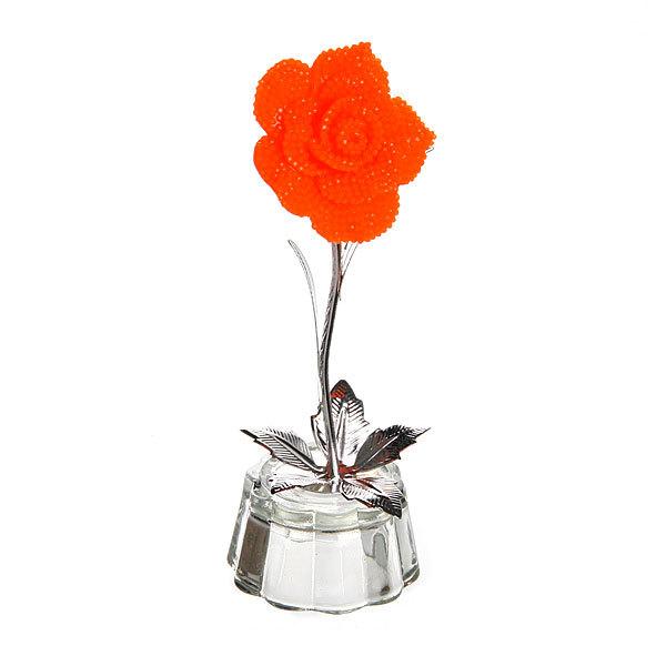 Фигурка из акрила ″Роза″ 11,5 см купить оптом и в розницу