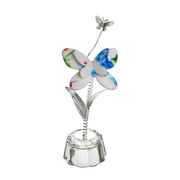 Фигурка из акрила ″Бабочка с бабочкой″ 11 см В001-52 купить оптом и в розницу
