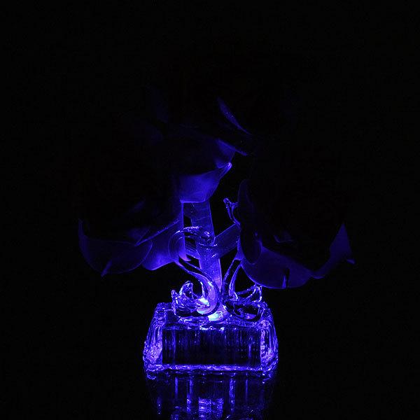 Фигурка из акрила ″Лебеди с розой и сердцем″ 14,5 см купить оптом и в розницу