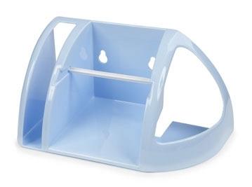 Полка для туалета (светло-голубой)*18 купить оптом и в розницу