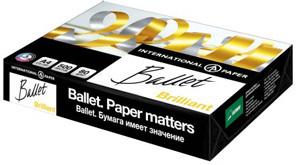 Бумага д/ксерокопий А4, Ballet Brilliant, А+, белизна 168,  500л. купить оптом и в розницу