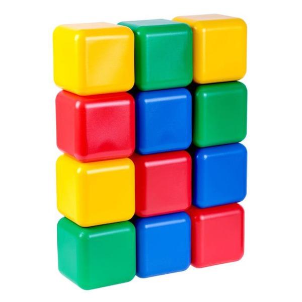 Набор кубиков 12 шт 12см 1930542 купить оптом и в розницу