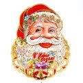Плакат новогодний 70 см Дед Мороз с колокольчиками купить оптом и в розницу