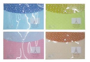 """Папка-конверт с кноп. А4 170мк YIWU """"Colorful life"""" 4 вида купить оптом и в розницу"""