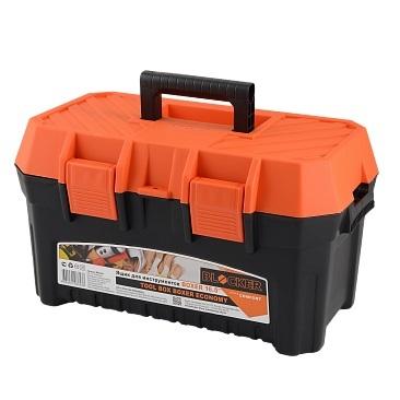 """Ящик для инструментов BOXER Economy 16,5"""" черный/оранжевый * 9 купить оптом и в розницу"""