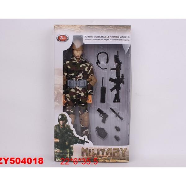 Фигурка солдата 03168 в кор. купить оптом и в розницу