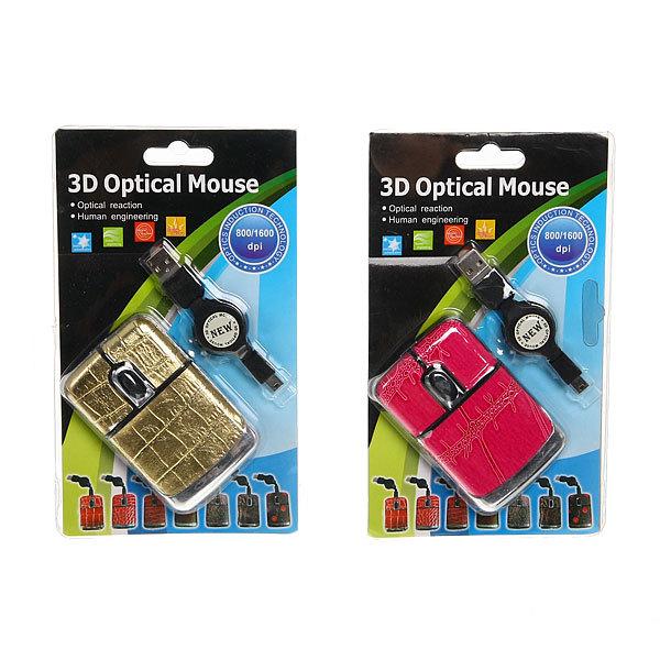 Мышка для компьютера USB-рулетка ″Кэт″ 806C купить оптом и в розницу