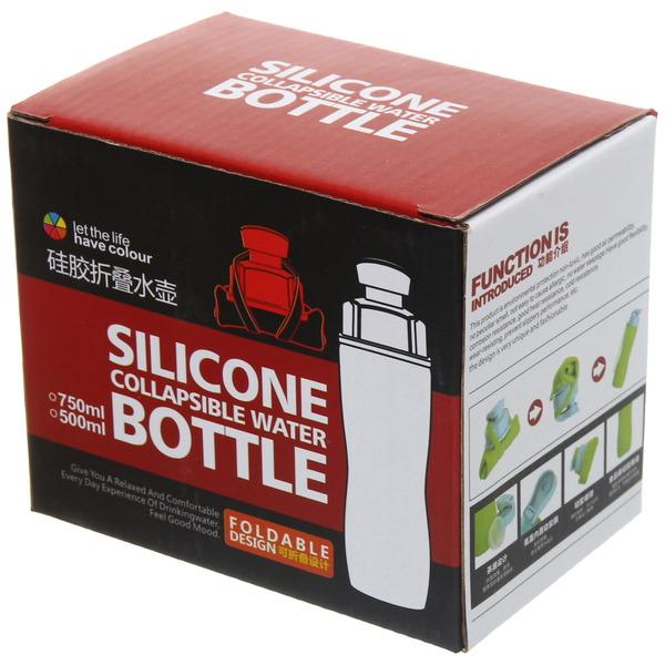 Бутылка силиконовая 750мл складная купить оптом и в розницу