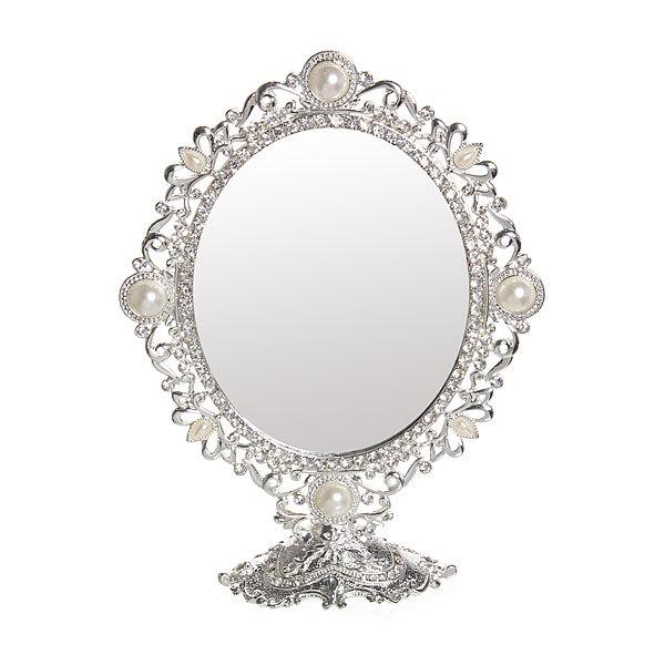 Зеркало настольное ″Камея″ Овал 18*14см 293-1 купить оптом и в розницу