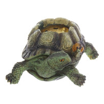 Кашпо для цветов садовое Черепаха 23х17см 2,0 л TT618 купить оптом и в розницу