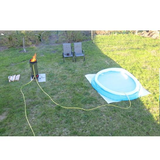 Нагреватель для бассейнов на твердом топливе Seazone-40 (40кВт) купить оптом и в розницу