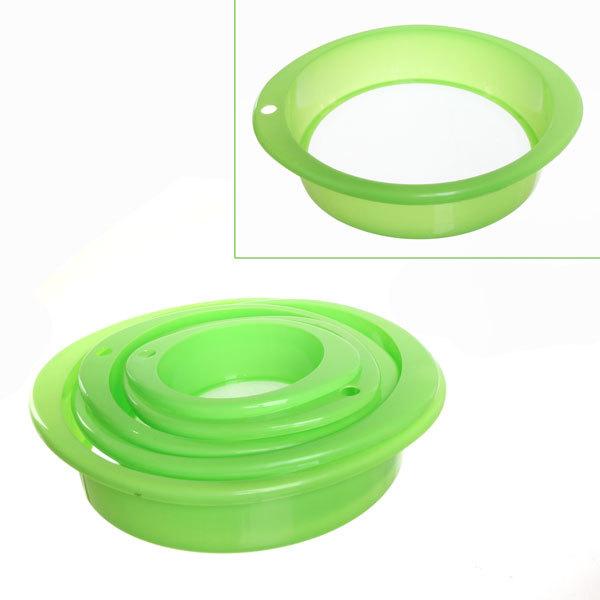 Сито пластиковое в наборе 4 шт 113-5 купить оптом и в розницу