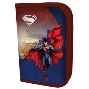 Пенал 1отдел.пуст. PROFF Супермен, 19.5*13.5 см купить оптом и в розницу
