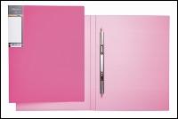 """Папка скоросш.Hatber А4 """"HD"""" Неоново-розовая, 17мм купить оптом и в розницу"""