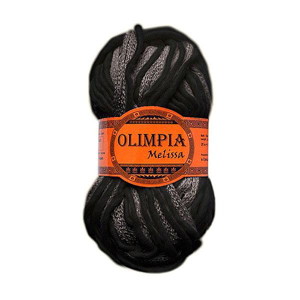 Пряжа для вязания Olimpia Melissa цв.ML02 серый 500г 5шт купить оптом и в розницу