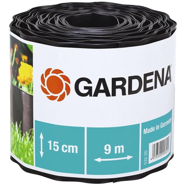 Бордюр черный ″GARDENA″ 15 см 00532-20.000.00 купить оптом и в розницу