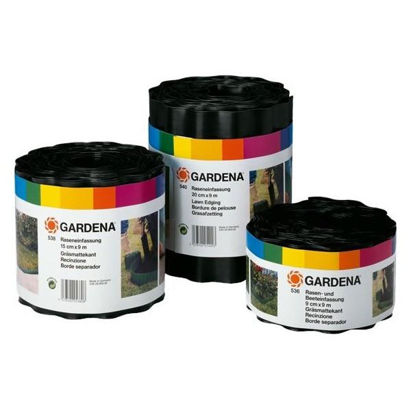 Бордюр черный ″GARDENA″, длина 9 м, ширина 20 см 00534-20.000.00 купить оптом и в розницу