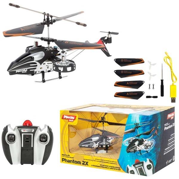 """Вертолет р/у MTE1202-122  Mioshi Tech """"Phantom2X купить оптом и в розницу"""