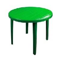 Стол круглый (900х900х750)(зелёный)(уп.1) (Октябрьский) купить оптом и в розницу