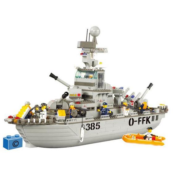 Констр-р 38-0126 Корабль 577 дет. в кор. купить оптом и в розницу