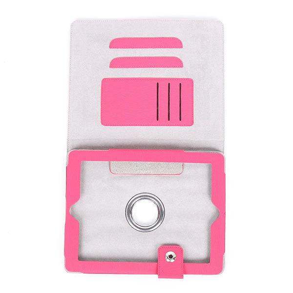 Чехол для Apple iPad 2, 3, поворотный, два положения, визитница, застежка 24*19 см купить оптом и в розницу