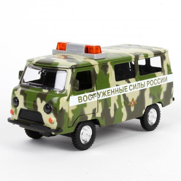 Модель СТ12-427-5 УАЗ 452 Вооруженные силы России Технопарк  в кор. купить оптом и в розницу