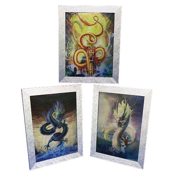 Картина голограмма ″Дракон″ 30*40см купить оптом и в розницу
