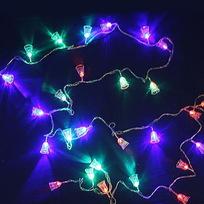 Гирлянда светодиодная 2,5м, 20 ламп LED, Колокольчик, RG/RB(красный,зеленый/красный,синий), авт.реж, пр.пров., с возм. соед. купить оптом и в розницу
