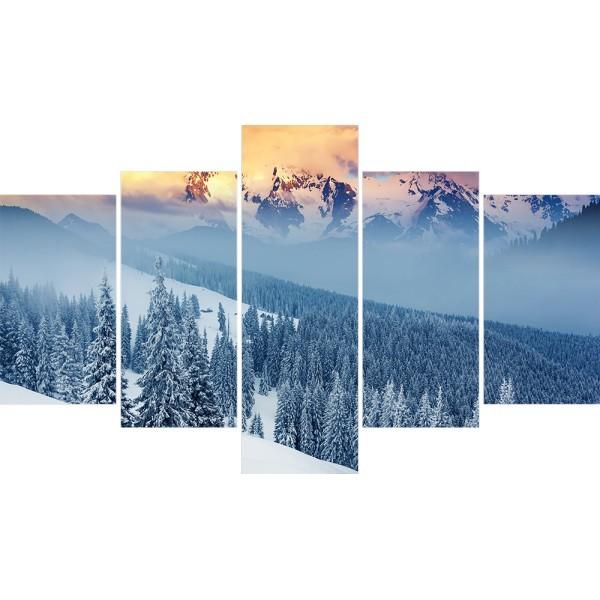 Картина модульная полиптих 75*130 Природа диз.14 38-02 купить оптом и в розницу