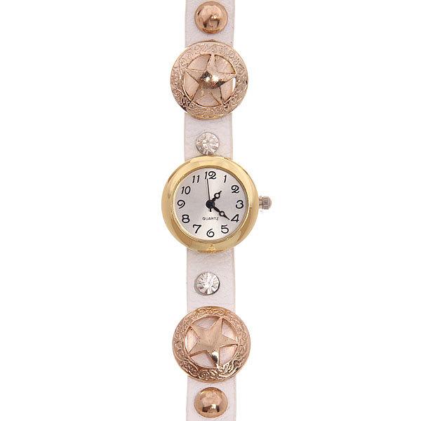 Часы наручные с двойным оборотом ″Звезды″, цвет микс купить оптом и в розницу