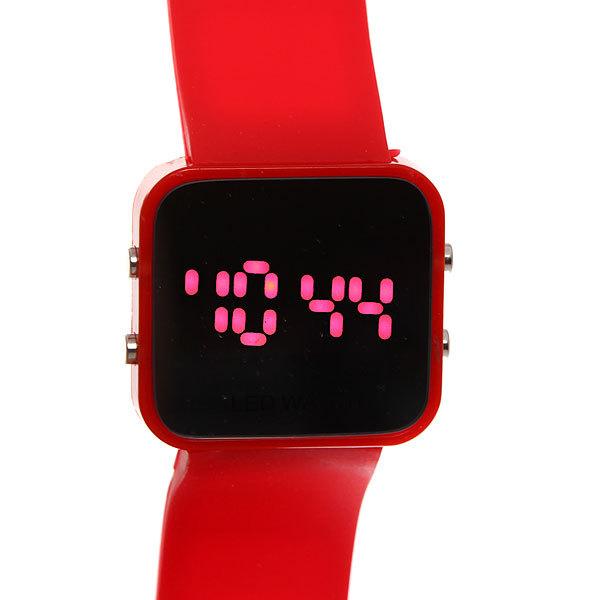 Часы наручные световые, цвет микс, квадратный циферблат купить оптом и в розницу