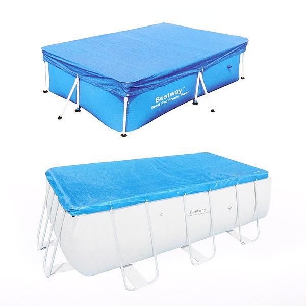 Чехол для прямоугольных каркасных бассейнов 244*154 см Bestway (58104) купить оптом и в розницу