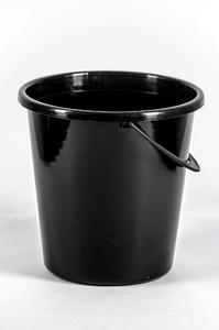 Ведро огородное черное 8л. купить оптом и в розницу