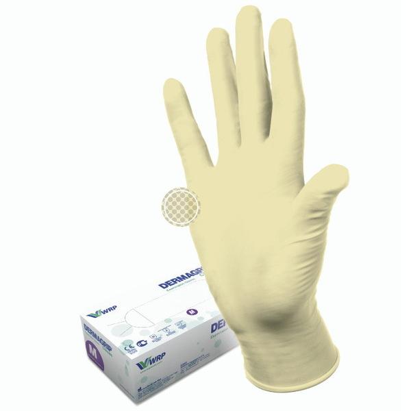 Перчатки DERMAGRIP CLASSIС латексные нестерильные неопудреные 50 пар XS купить оптом и в розницу