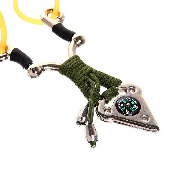Рогатка 14 см (3-й жгут,металл/шнур,компас) купить оптом и в розницу