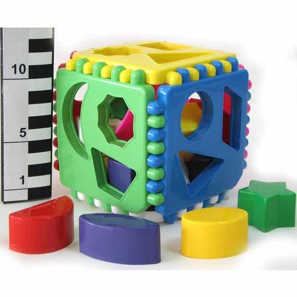 Логич.игрушка Куб подарочный 01316 /14/ купить оптом и в розницу
