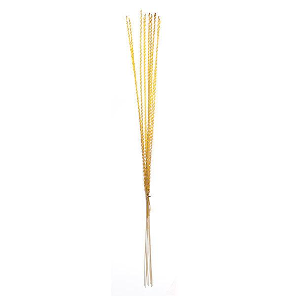 Цветок искусственный 80см ветки декоративные Спиралька набор 10шт купить оптом и в розницу