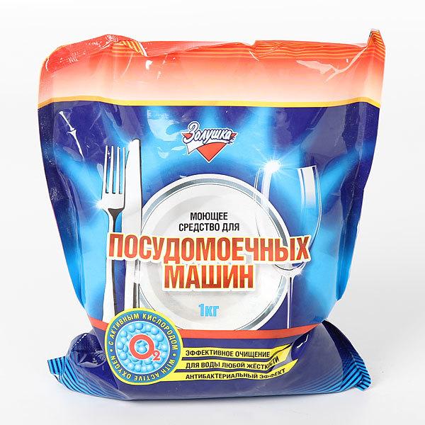 Порошок для мытья посуды в посудомоечных машинах Золушка 1кг купить оптом и в розницу
