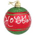Новогодние шары ″С новым годом″ 6см (набор 3шт.) купить оптом и в розницу